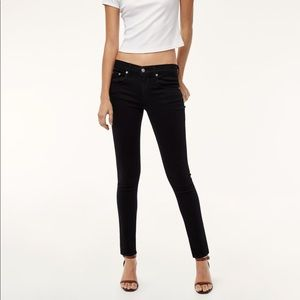 • Rag & Bone • The Skinny Jeans Black Coral 28